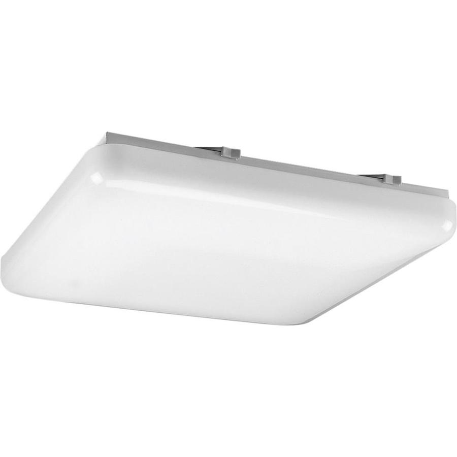 Progress Lighting Flush Mount Shop Light (Common: 1.5-ft; Actual: 15-in x 15-in)