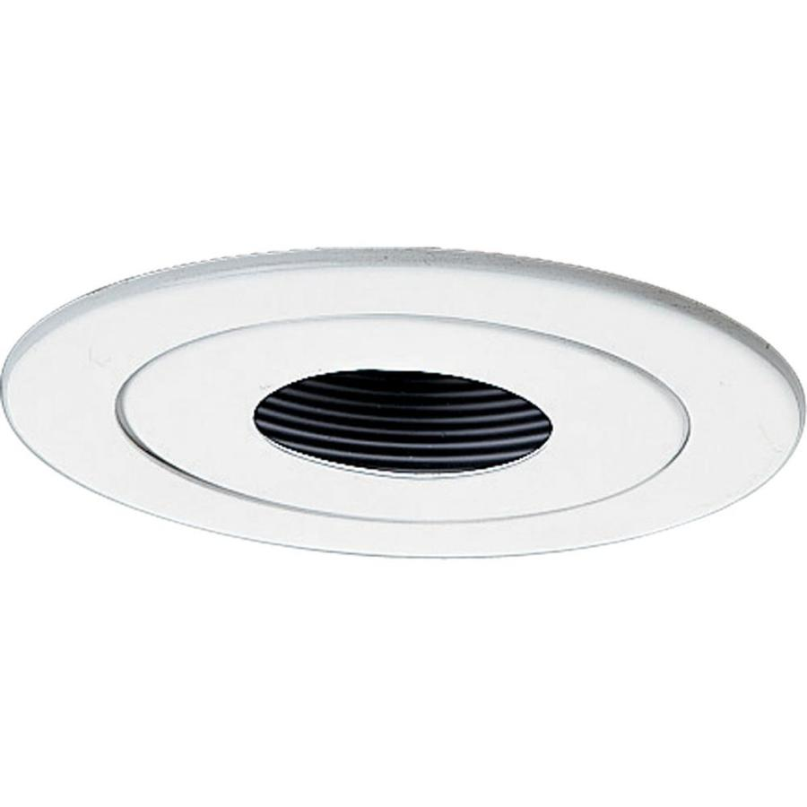 Progress Lighting White Pin Hole Recessed Light Trim (Fits Housing Diameter: 4-in)