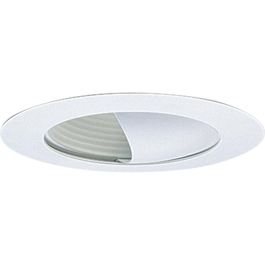 Progress Lighting White Wall Wash Recessed Light Trim (Fits Housing Diameter: 6-in)