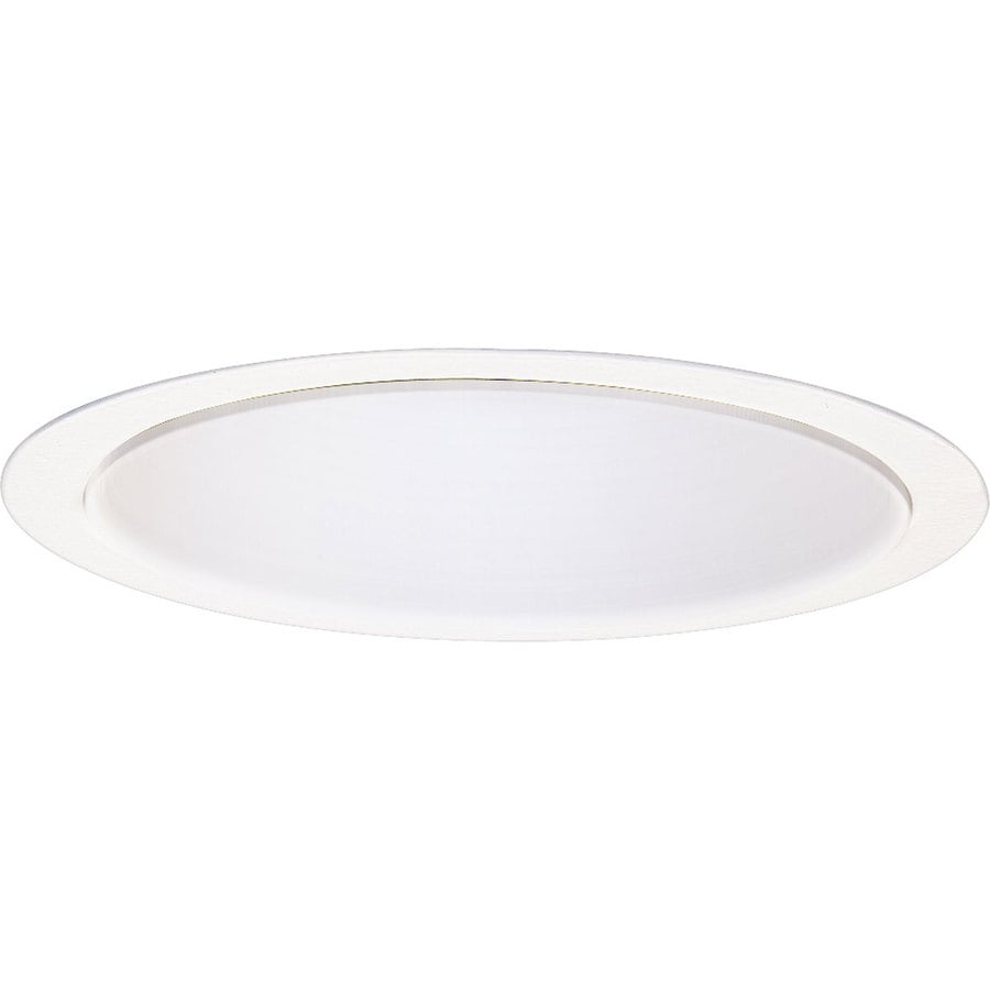 Progress Lighting White Reflector Recessed Light Trim (Fits Housing Diameter: 6-in)
