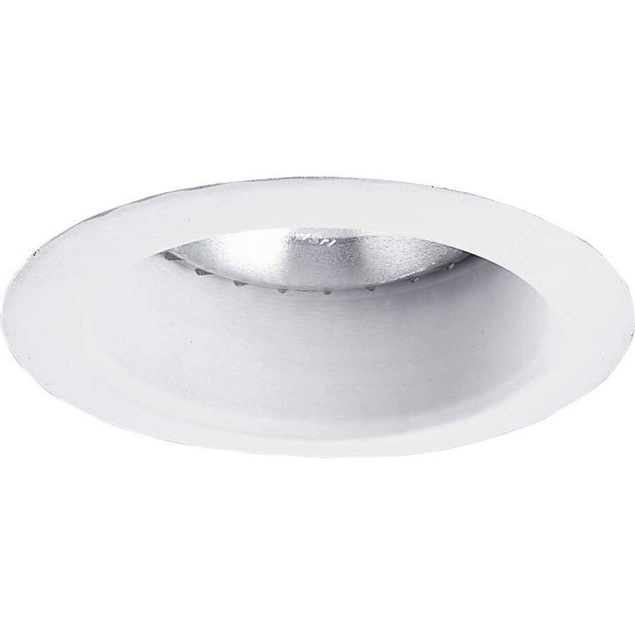 Progress Lighting White Open Recessed Light Trim (Fits Housing Diameter: 5-in)