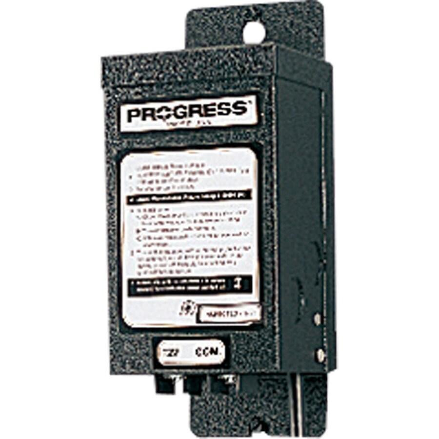 Progress Lighting 600-Watt 12-Volt Multi-Tap Landscape Lighting Transformer