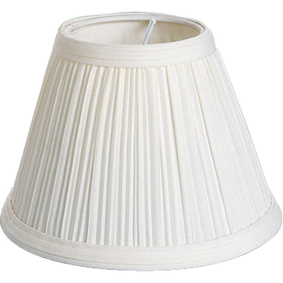 Progress Lighting 4.25-in x 6-in Beige Chandelier Lamp Shade