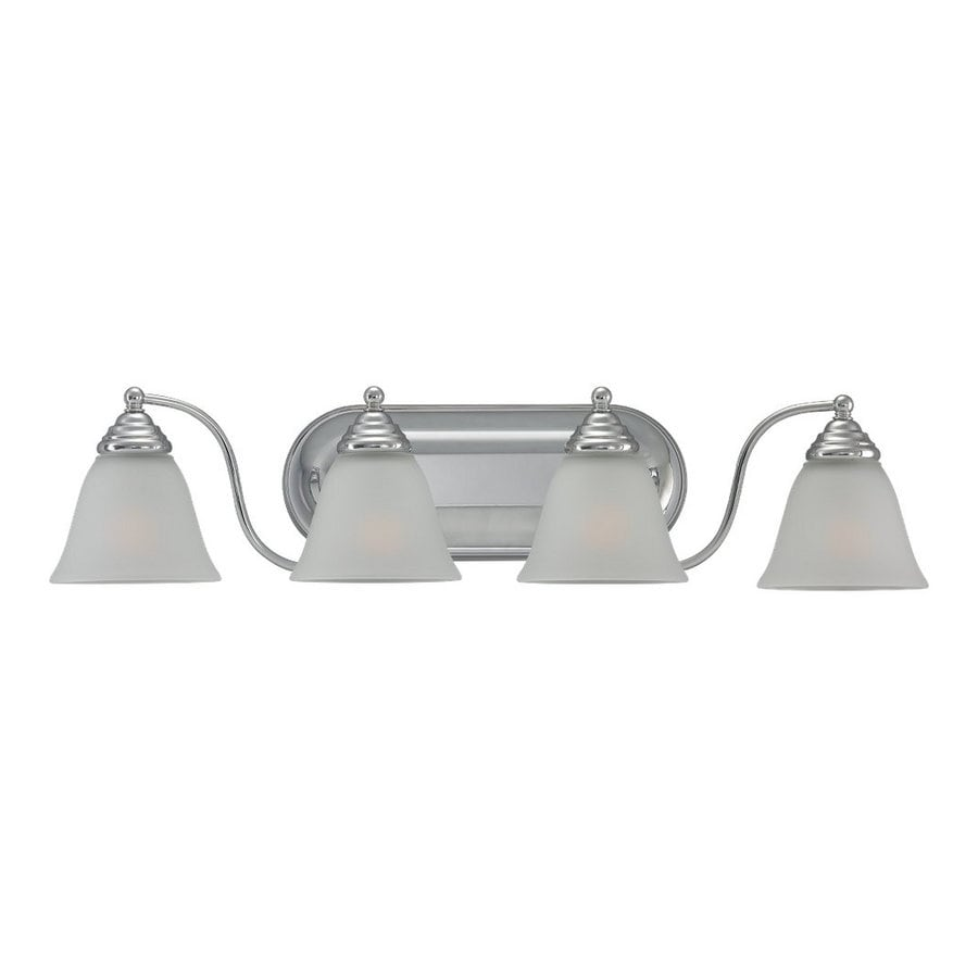 Sea Gull Lighting 4-Light Albany Chrome Bathroom Vanity Light