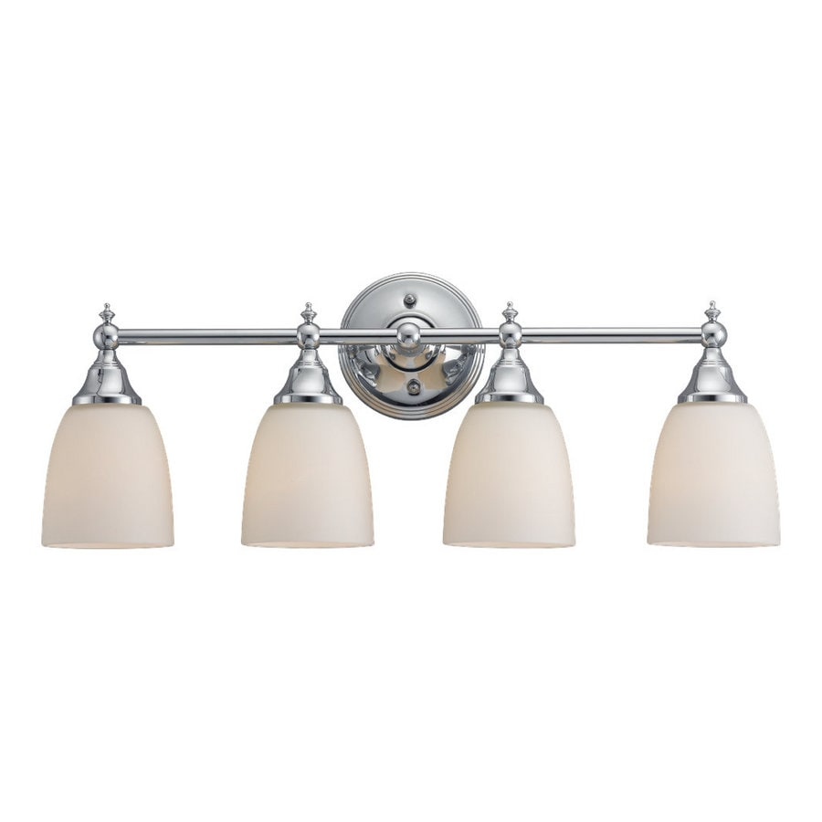 Sea Gull Lighting 4-Light Finitude Chrome Bathroom Vanity Light