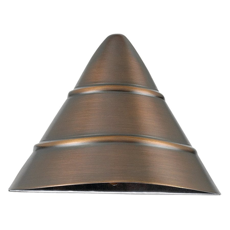 Sea Gull Lighting Weathered Bronze Low-Voltage Deck Light