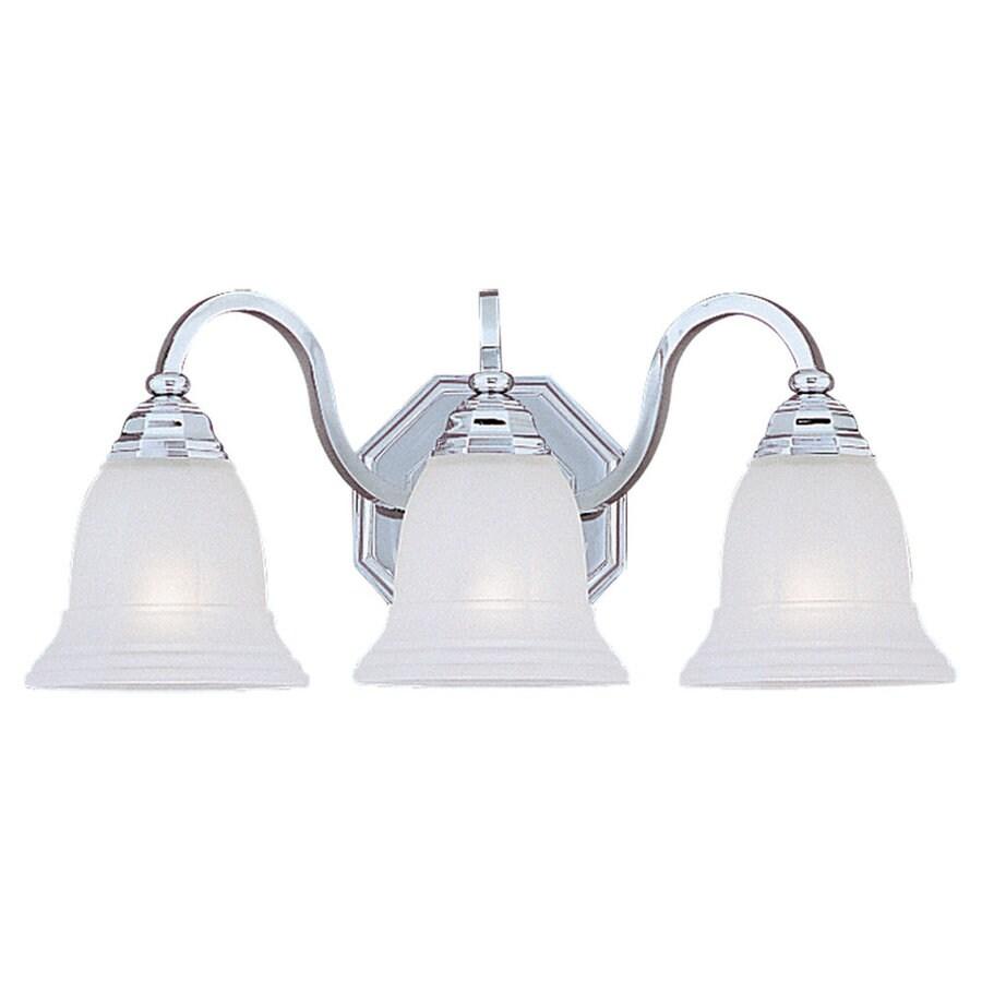 Sea Gull Lighting Blakely 3-Light Chrome Vanity Light