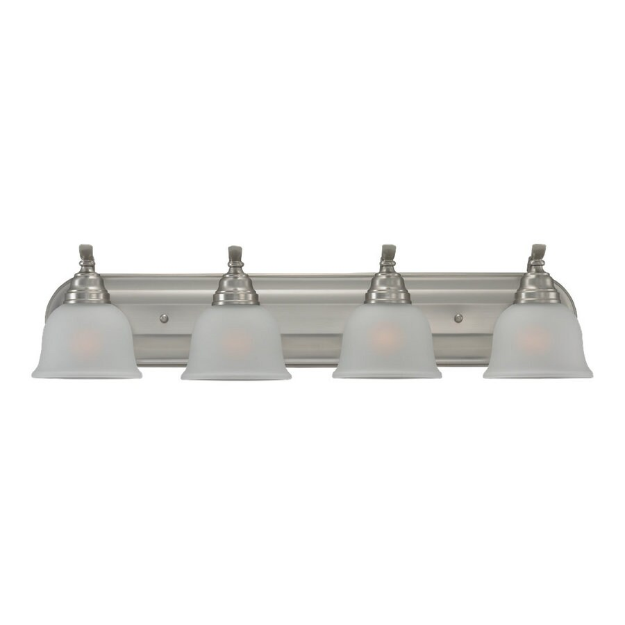 Sea Gull Lighting 4-Light Wheaton Brushed Nickel Bathroom Vanity Light