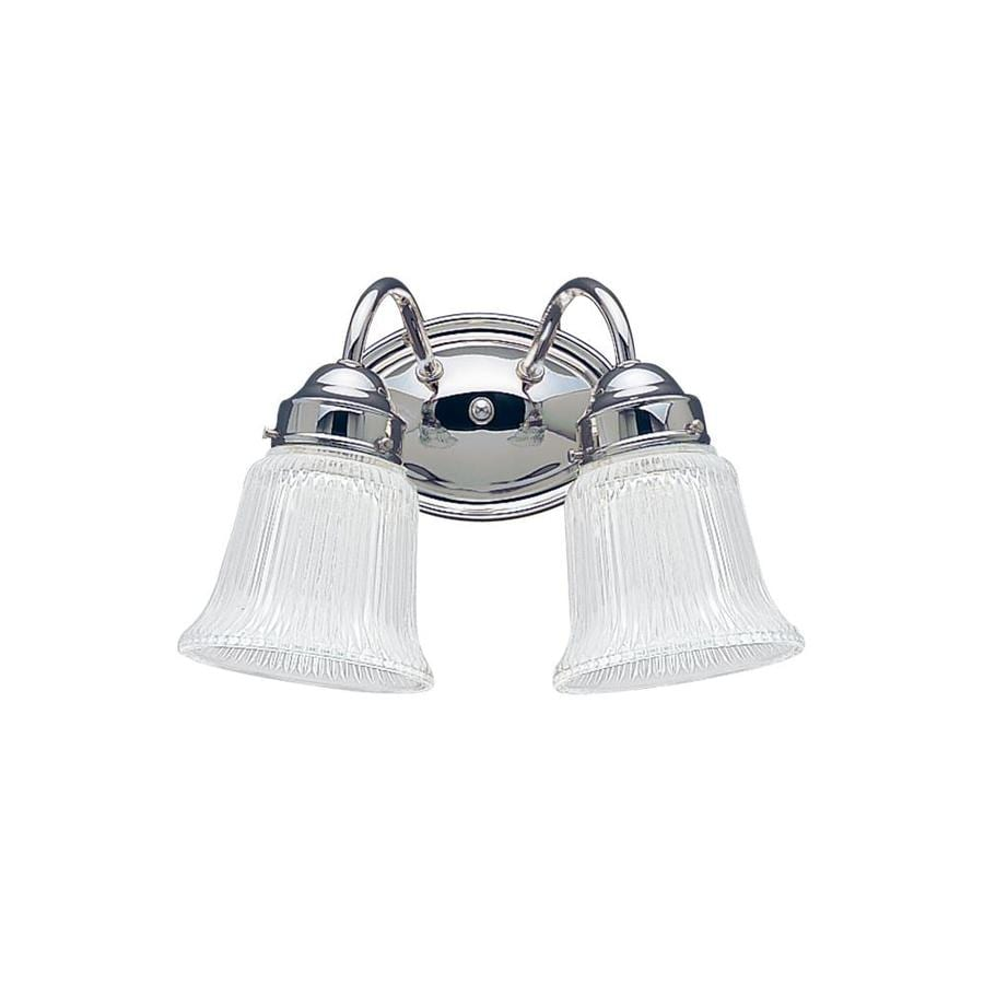 Sea Gull Lighting Brookchester 2-Light Chrome Vanity Light