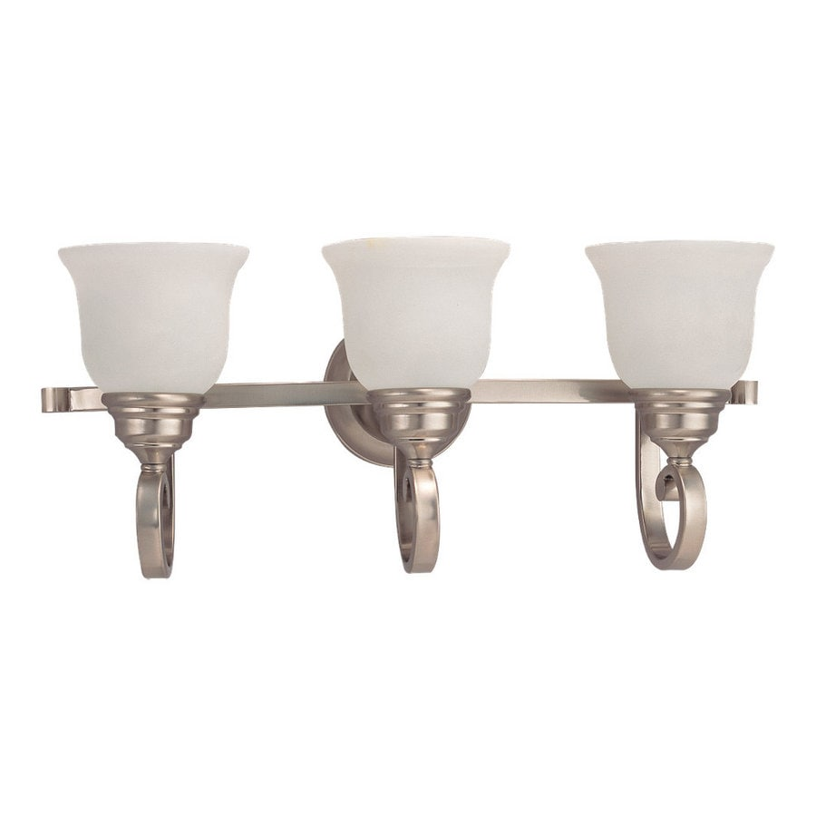 Sea Gull Lighting Serenity 3-Light Brushed Nickel Vanity Light