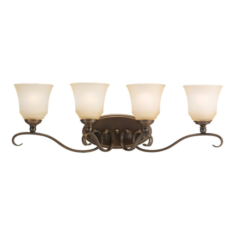 Sea Gull Lighting Parkview 4-Light Russet Bronze Vanity Light