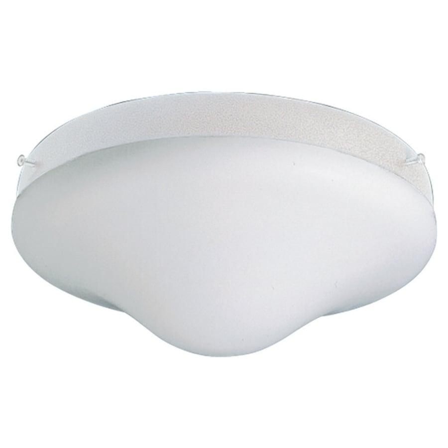 Sea Gull Lighting White Powdercoat Finish Ceiling Fan Light Kit