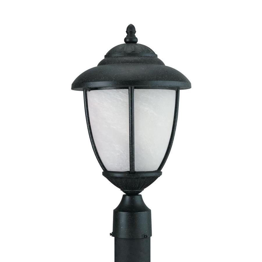 Sea Gull Lighting Yorktowne Post Lantern