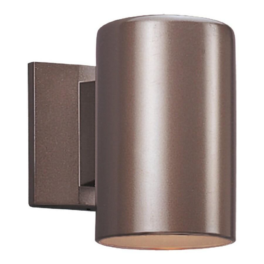 Sea Gull Lighting 7-in H Bronze Dark Sky Outdoor Wall Light