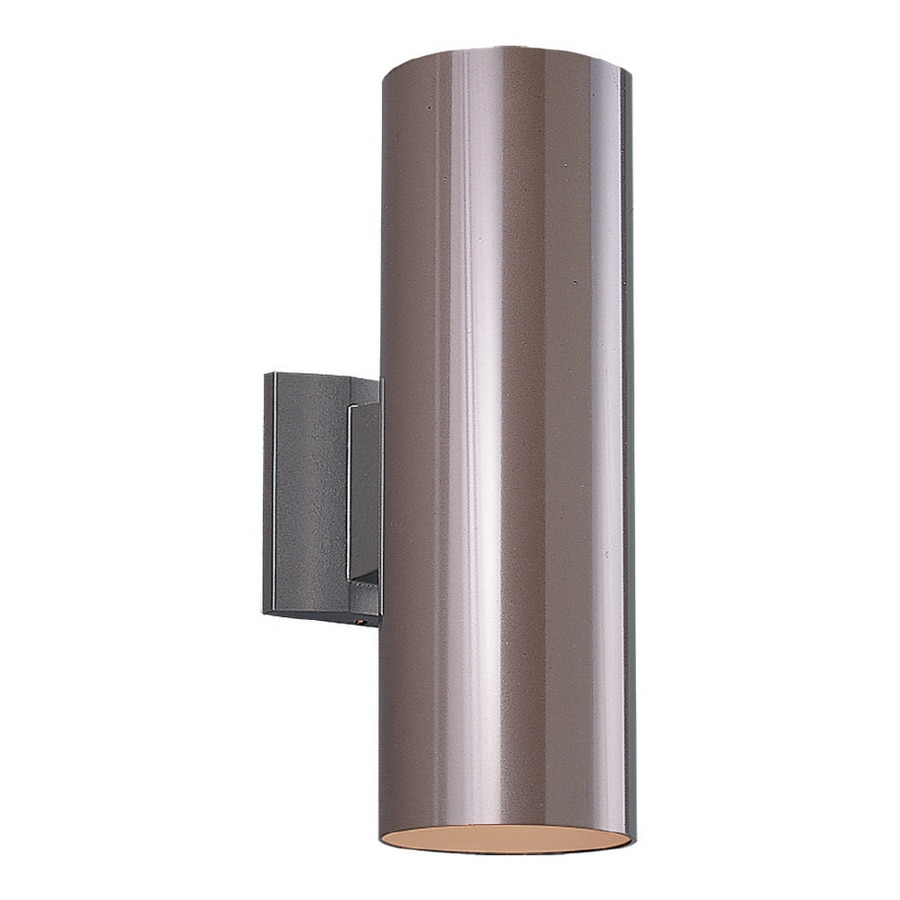 Sea Gull Lighting 15-in H Bronze Outdoor Wall Light