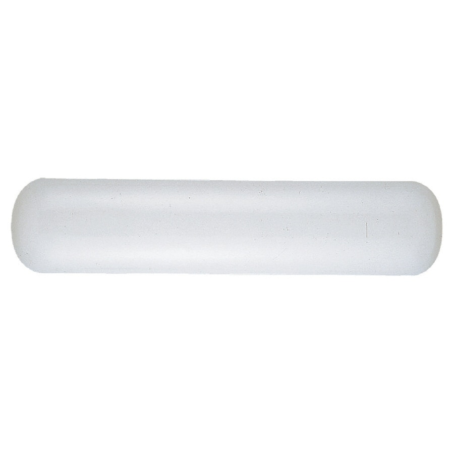 Sea Gull Lighting 2-Light White Plastic Vanity Light