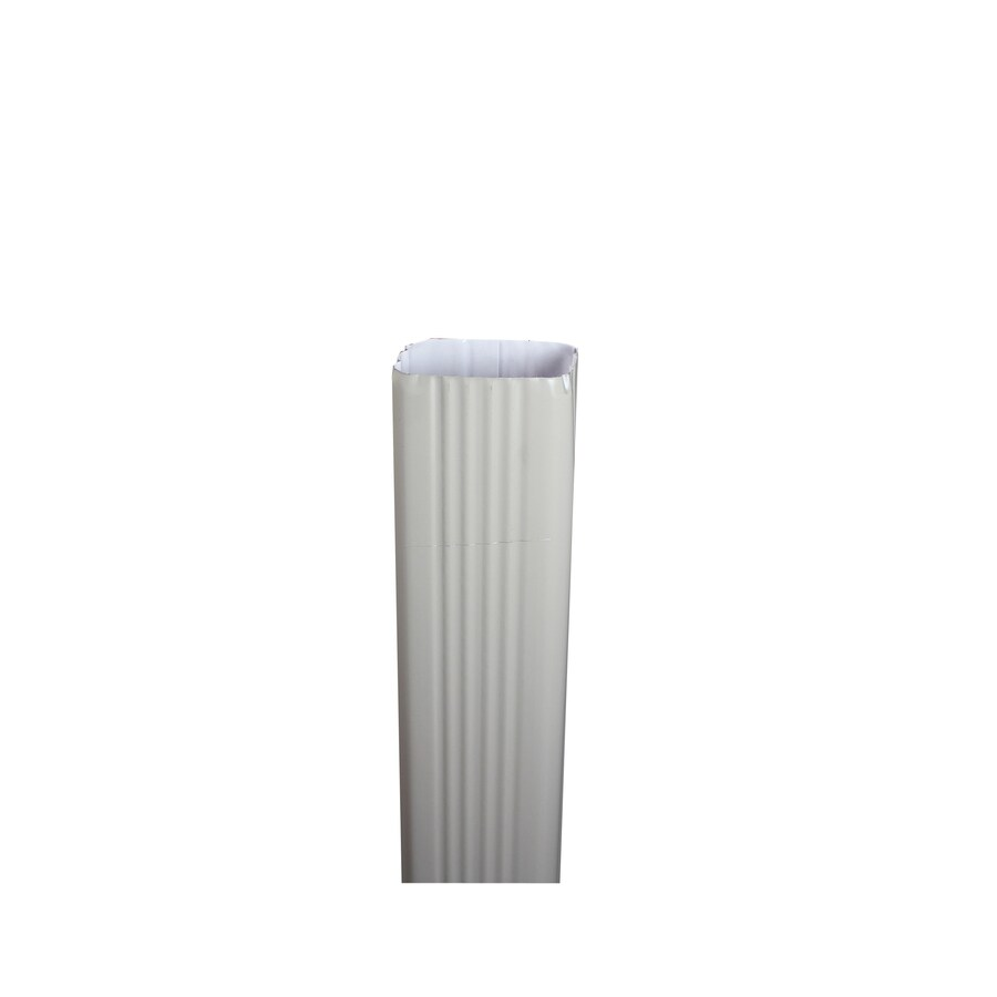 Spectra 3-in Clay Metal Downspout