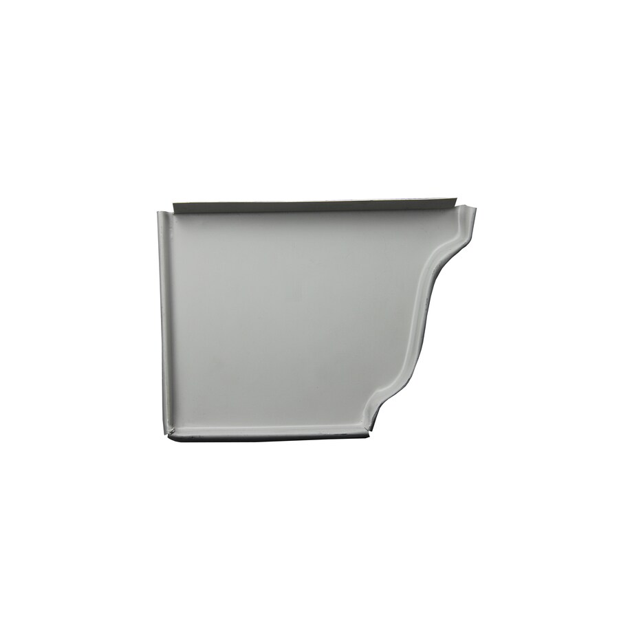 Spectra Metal K Style Left Gutter End Cap