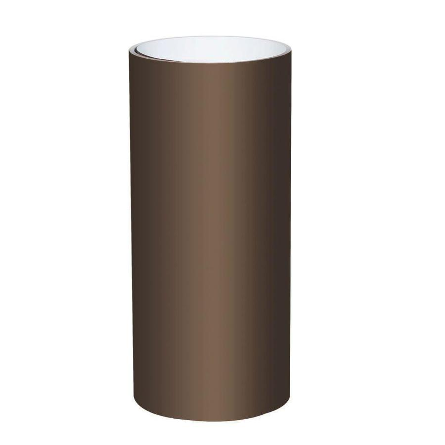 Spectra 24-in x Actual Length Smooth Musket Brown Over White Trim Coil Trim Coil Metal Siding Trim