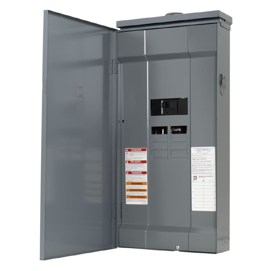 Square D 16-Circuit 8-Space 200-Amp Main Breaker Load Center