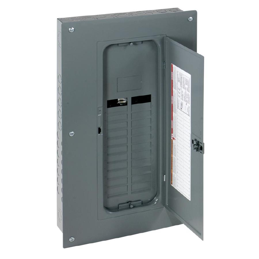 Square D 24-Circuit 24-Space 125-Amp Main Lug Convertible Load Center