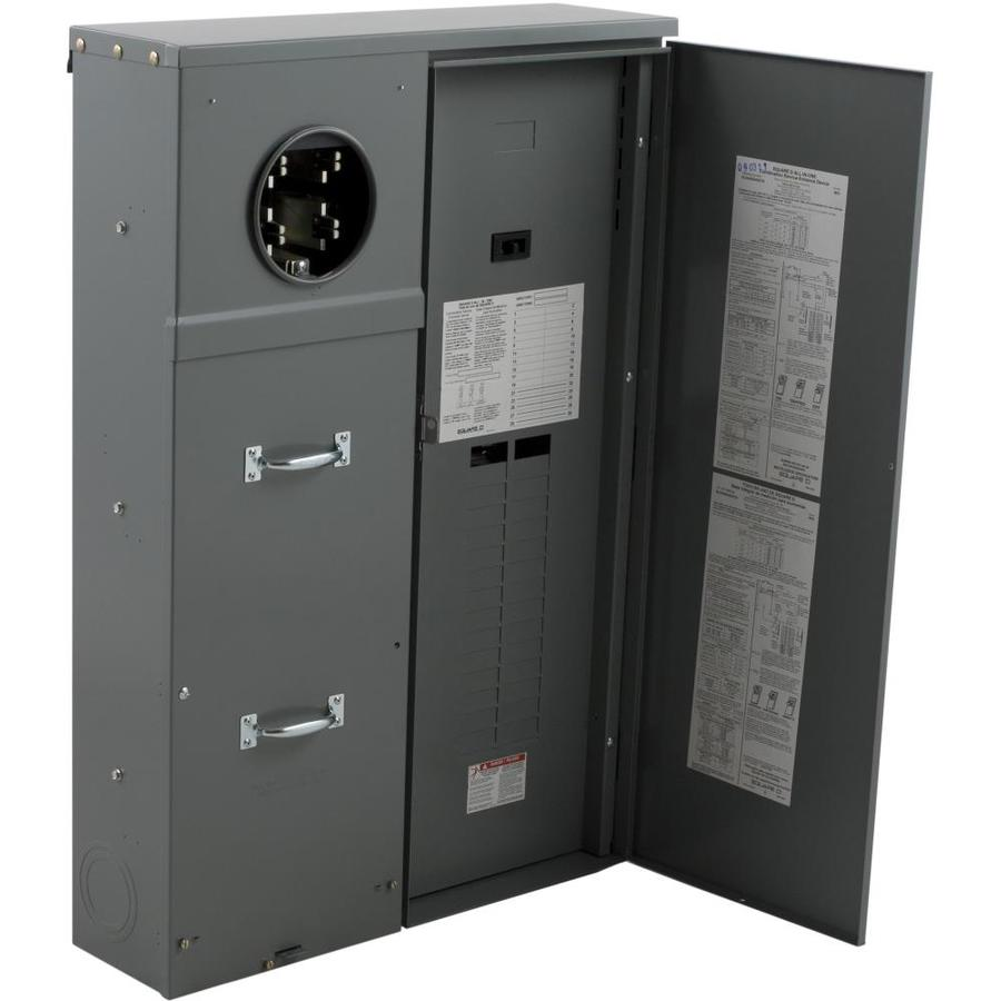 Square D 40-Circuit 30-Space 400-Amp Main Breaker Load Center