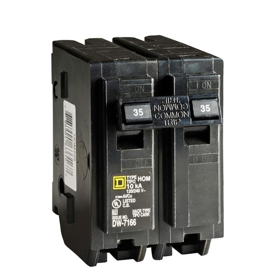 Square D Homeline 35-Amp 2-Pole Double-Pole Circuit Breaker