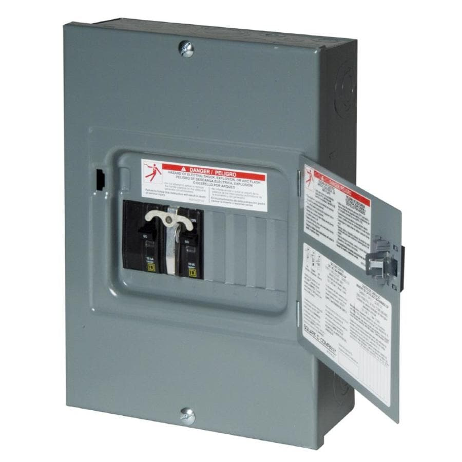 Square D 8-Circuit 8-Space 60-Amp Main Breaker Load Center