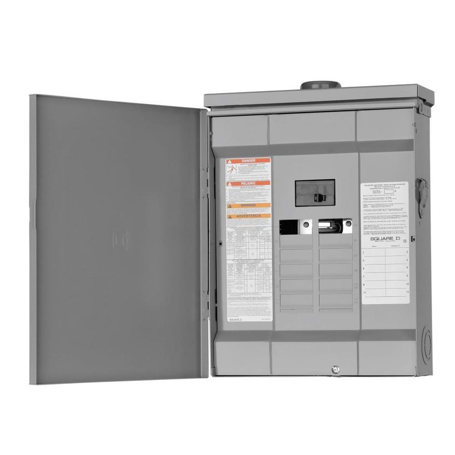 Square D 24-Circuit 12-Space 100-Amp Main Breaker Load Center