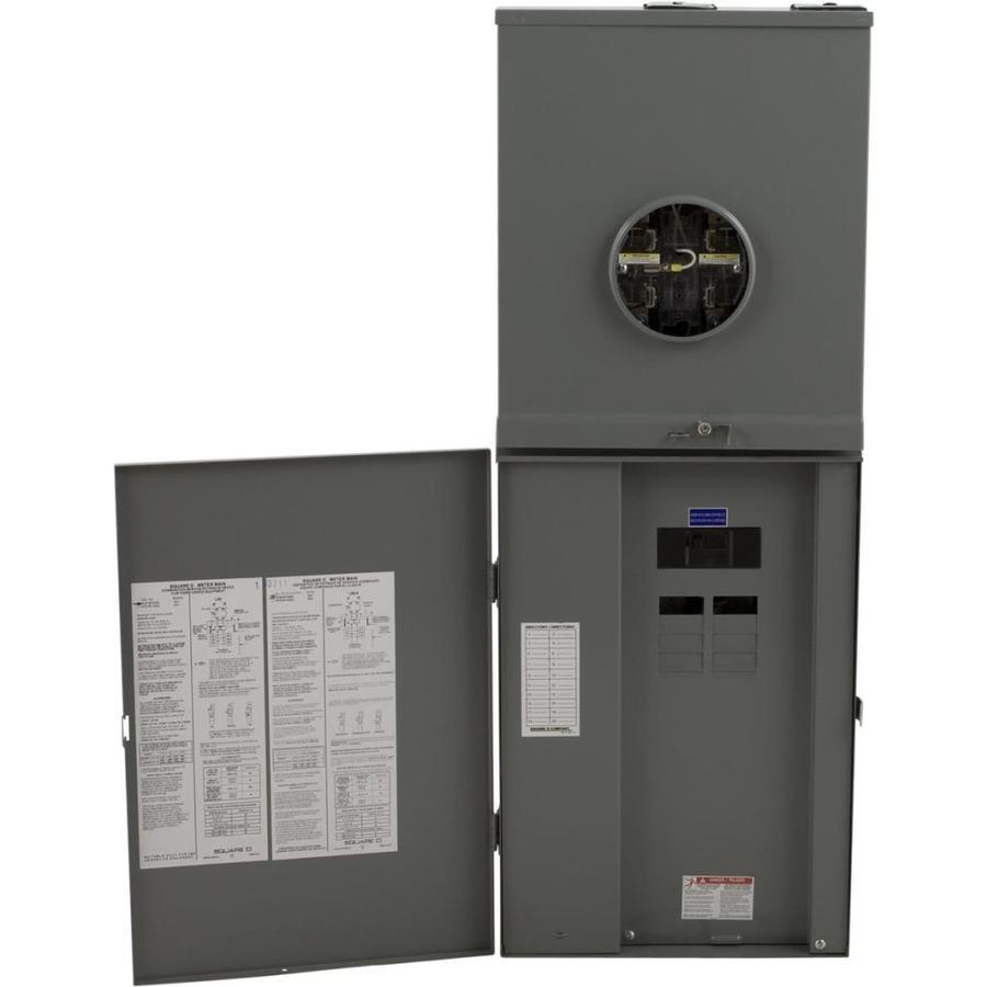 Square D 16-Circuit 8-Space 200-Amp Main Lug Load Center
