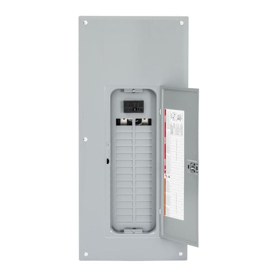 Square D 60-Circuit 30-Space 100-Amp Main Breaker Load Center