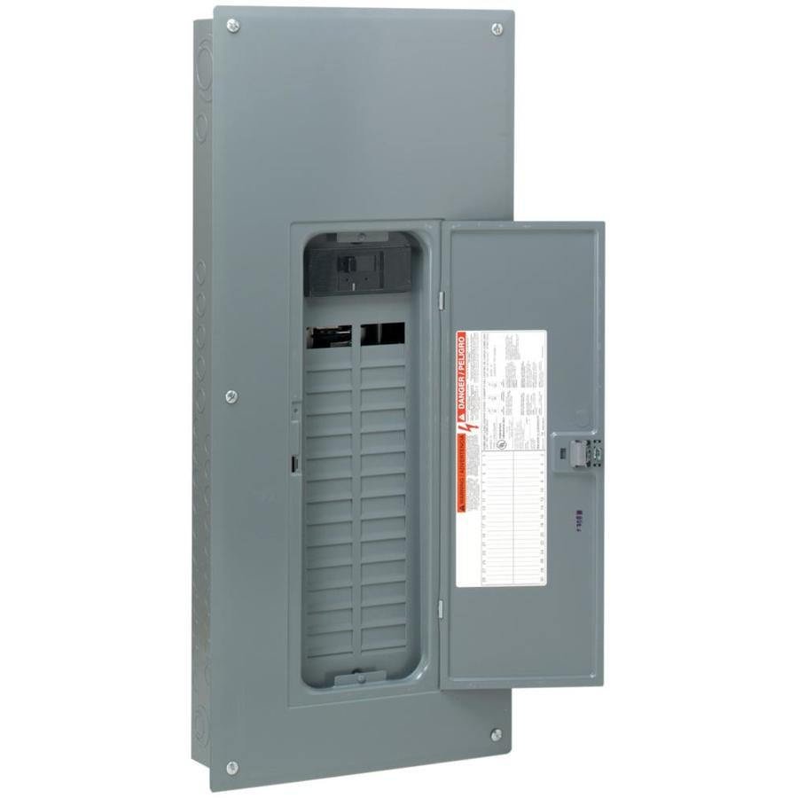 Square D 60-Circuit 30-Space 150-Amp Main Breaker Load Center