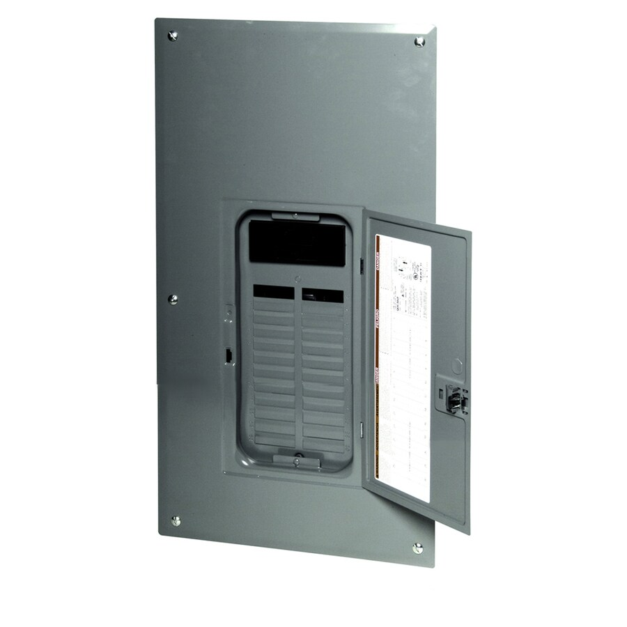 Square D 24-Circuit 24-Space 100-Amp Main Breaker Load Center