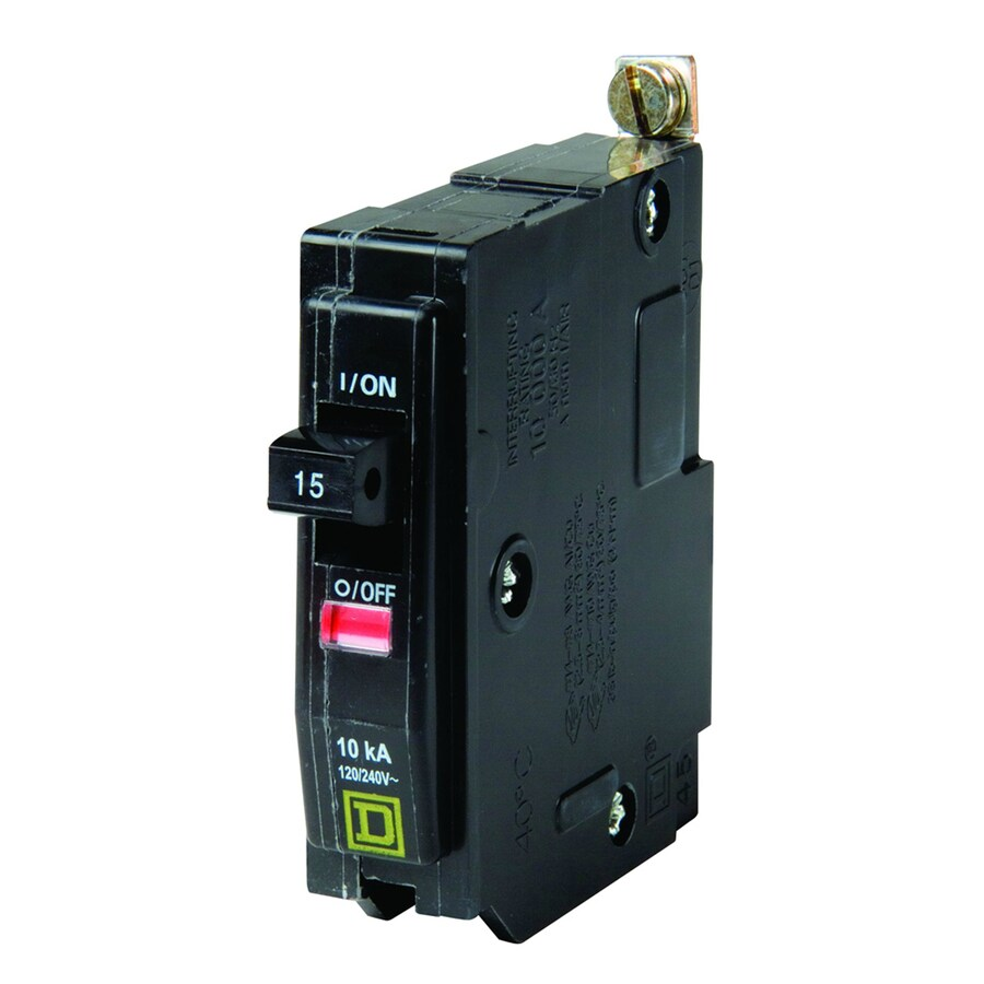 Square D QO 15-Amp 1-Pole Circuit Breaker