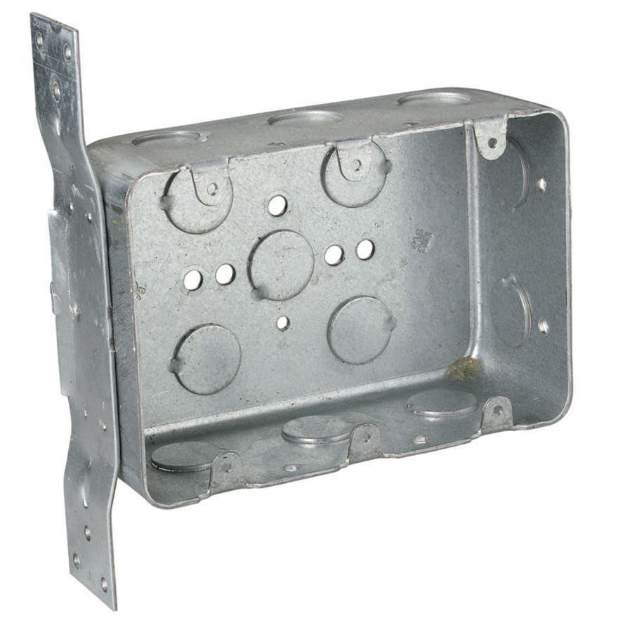 STEEL CITY 44.3 cu in3-Gang Metal Old Work Wall Electrical Box