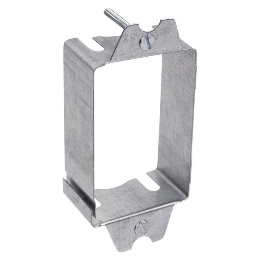 STEEL CITY 3.5-cu in 1-Gang Metal Adjustable Wall Electrical Box