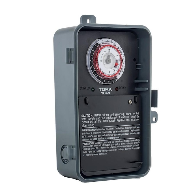 Tork Photo Control Mechanical Lighting Timer In The