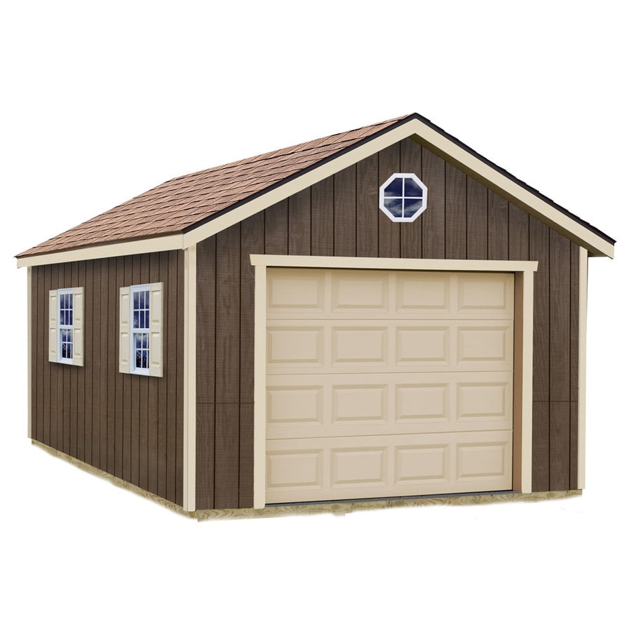 Shop best barns sierra without floor gable engineered wood for 16 x 11 garage door