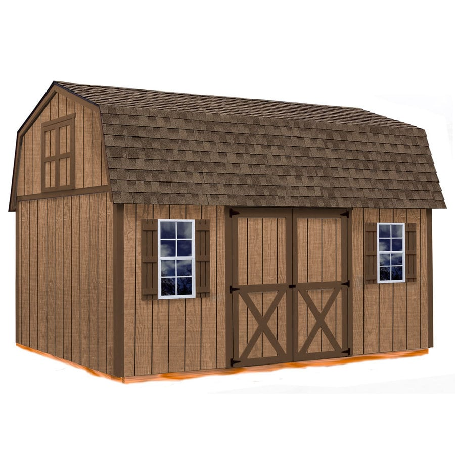 Shop best barns homestead without floor gambrel engineered for Gambrel barn prices