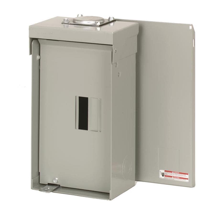 Eaton 4-Circuit 2-Space 125-Amp Main Lug Load Center