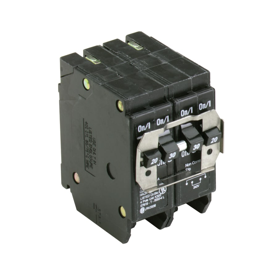 Eaton Type BR 30-Amp 4-Pole Quad Circuit Breaker