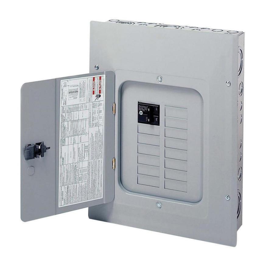 Eaton 20-Circuit 12-Space 100-Amp Main Breaker Load Center