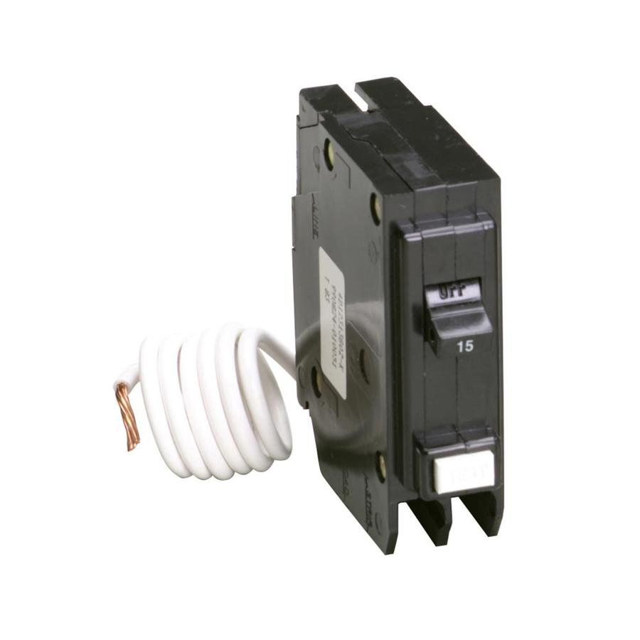Eaton Type BR 15-Amp 1-Pole Ground Fault Circuit Breaker