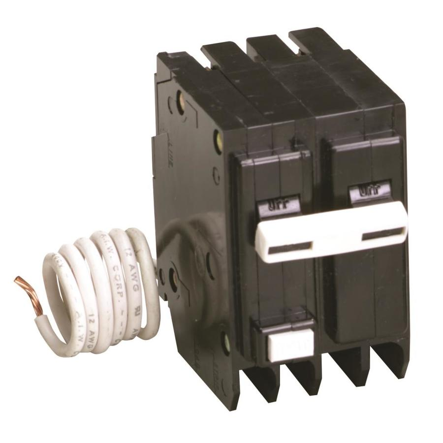 Eaton Type Br 50 Amp 2-Pole Ground Fault Circuit Breaker