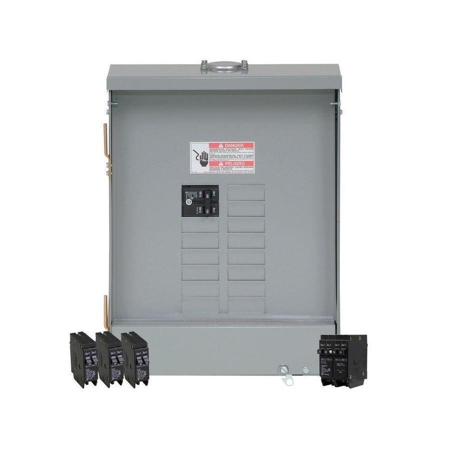Eaton 24-Circuit 12-Space 125-Amp Main Breaker Load Center (Value Pack)