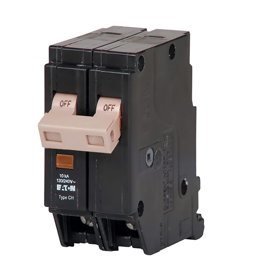 Shop Eaton Type Ch 50 Amp 2 Pole Double Pole Circuit