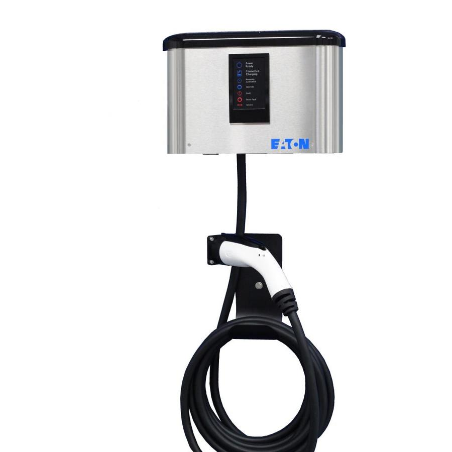 Eaton Level 2 30-Amp Wall Mounted Single Electric Car Charger