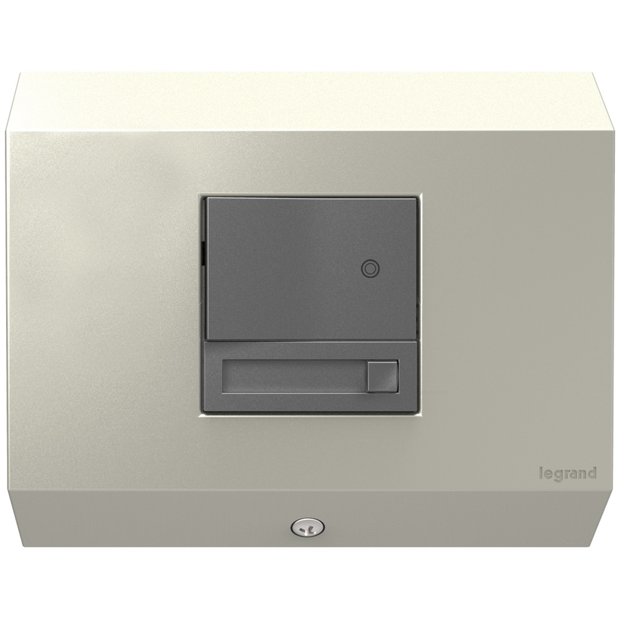 Shop Legrand Adorne Titanium 15-Amp 3-Wire Grounding Under Cabinet Control Box at Lowes.com