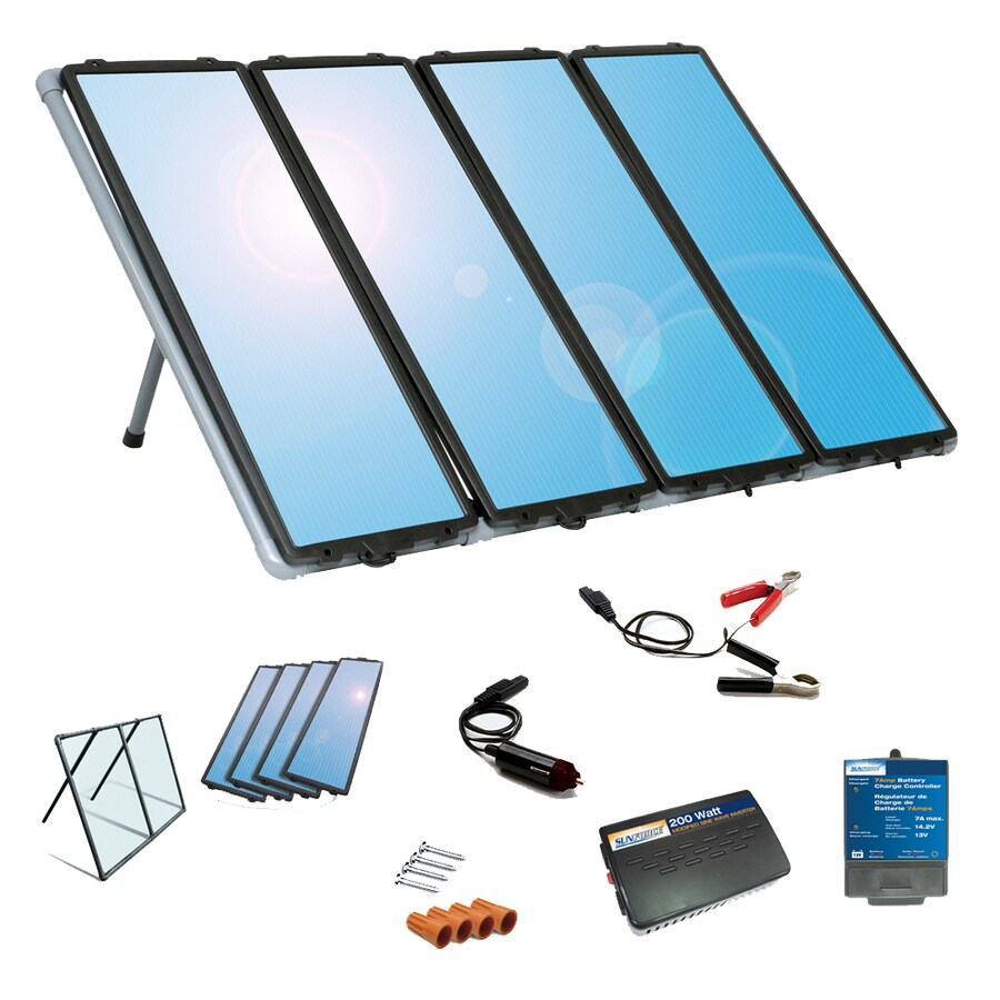 Sunforce 41-in x 16.25-in x 13.25-in 60-Watt Portable Solar Panel