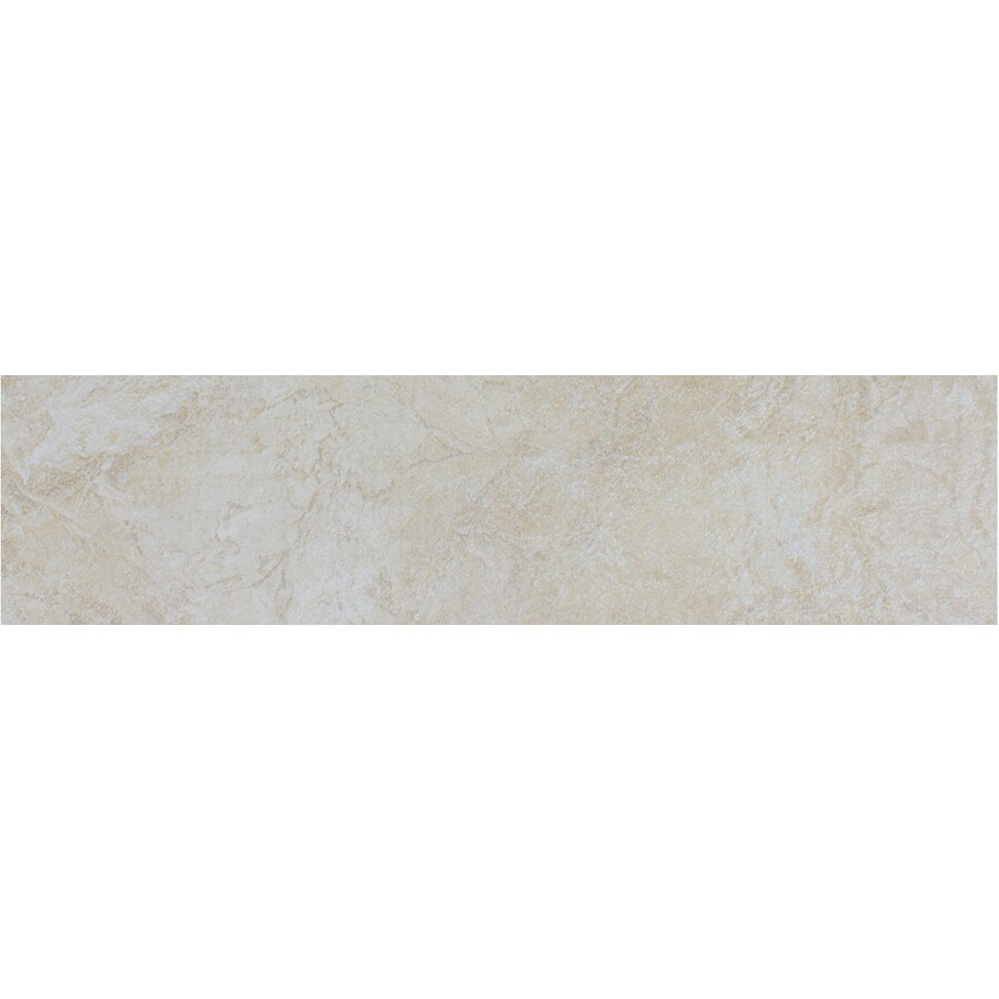 FLOORS 2000 Oriente Beige Porcelain Bullnose Tile (Common: 3-in x 18-in; Actual: 3-in x 17.75-in)